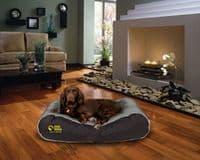 Waterproof Box Border Dog Bed.